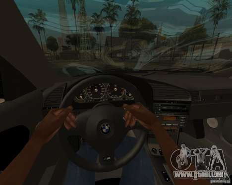 BMW M3 e36 1997 für GTA San Andreas zurück linke Ansicht