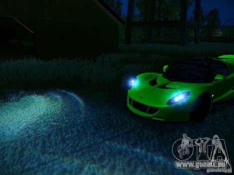Hennessey Venom GT Spyder für GTA San Andreas Räder