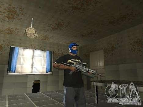 PP-19 Bizon mit Optik für GTA San Andreas zweiten Screenshot