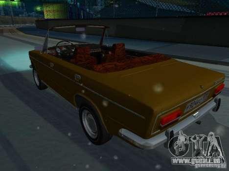 VAZ 2103 Convertible pour GTA San Andreas laissé vue