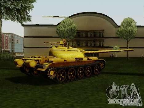 Type 59 GOLD Skin für GTA San Andreas linke Ansicht