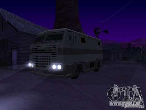 Avan de GTA TBoGT FIV pour GTA San Andreas sur la vue arrière gauche