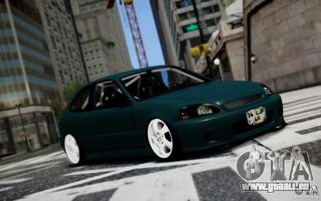 Honda Civic 1.4iES HB 1999 pour GTA 4