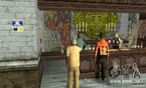 Drunk mod pour GTA San Andreas deuxième écran
