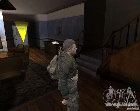 Alex Mason pour GTA San Andreas quatrième écran