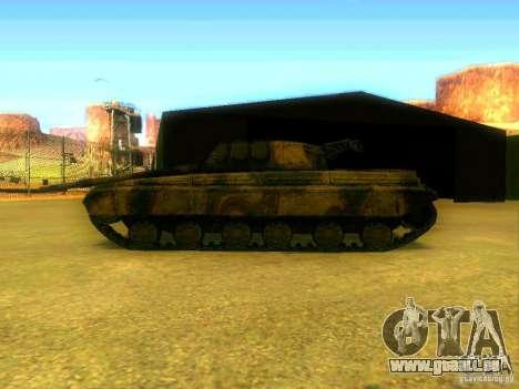 Tank Spiel S. T. A. L. k. e. R für GTA San Andreas rechten Ansicht