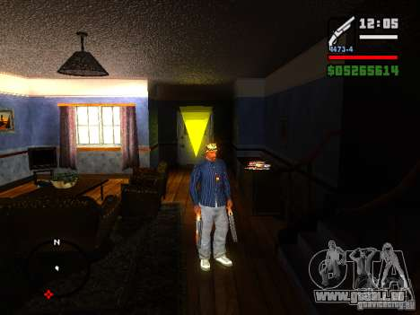 ENBSeries v2 pour GTA San Andreas deuxième écran