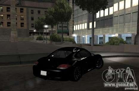 Porsche Cayman R pour GTA San Andreas vue arrière