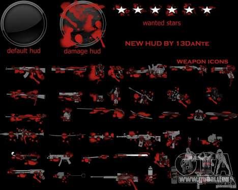 New Hud v.2.0 pour GTA San Andreas