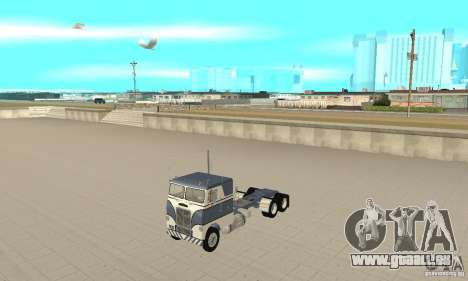White Freightliner Extended Wheel Base pour GTA San Andreas
