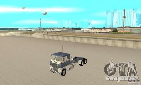 White Freightliner Extended Wheel Base für GTA San Andreas