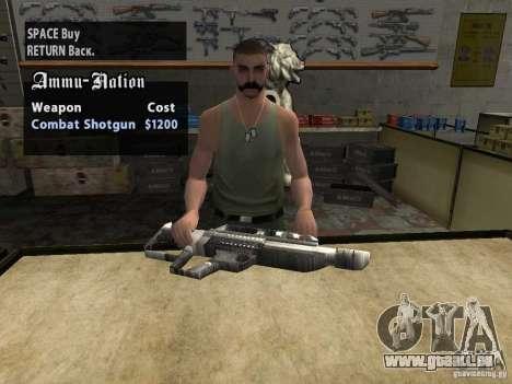 Pancor Jackhammer für GTA San Andreas her Screenshot