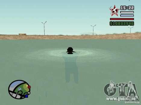 ENBSeries pour GForce 5200 FX v2.0 pour GTA San Andreas quatrième écran