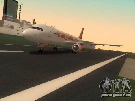 Airbus A320-214 EasyJet pour GTA San Andreas