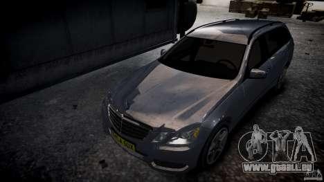 Mercedes E-Klasse-Wagen für GTA 4 Rückansicht