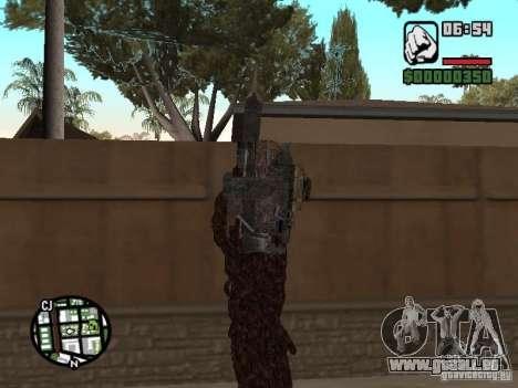 Wesker Ouroboros für GTA San Andreas zweiten Screenshot