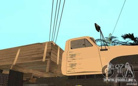 GAZ-52 für GTA San Andreas Unteransicht