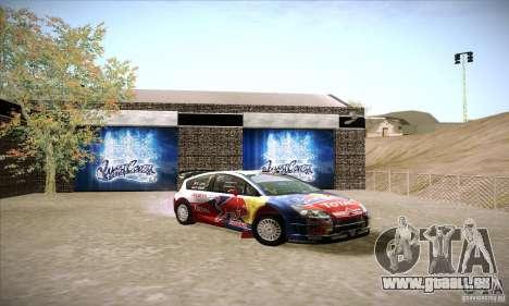 Citroen C4 WRC für GTA San Andreas