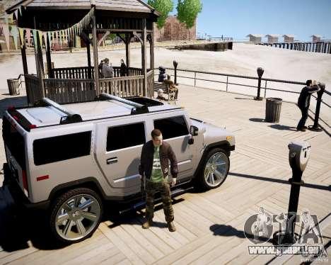CoD Black Ops Hudson für GTA 4 fünften Screenshot