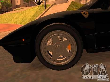 Ferrari 288 GTO pour GTA San Andreas vue arrière