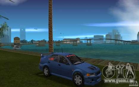 Mitsubishi Lancer Evo VI für GTA Vice City Rückansicht