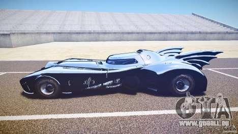 Batmobile v1.0 für GTA 4 hinten links Ansicht