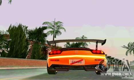 Mazda RX7 RE-Amemiya für GTA Vice City obere Ansicht