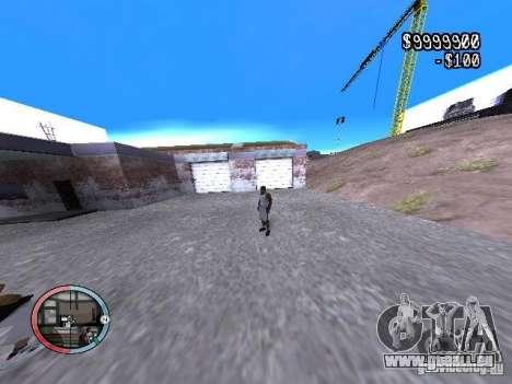 DRUNK MOD V2 pour GTA San Andreas troisième écran