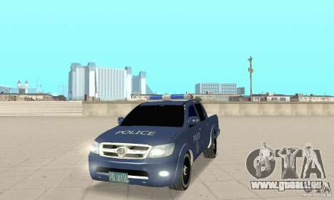Toyota Hilux Somaliland Police für GTA San Andreas