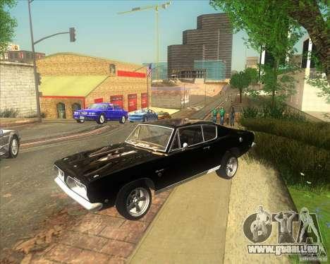 Plymouth Barracuda 1968 für GTA San Andreas