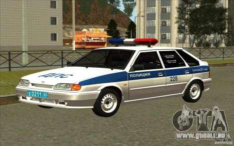 VAZ 2114 Polizei DPS für GTA San Andreas