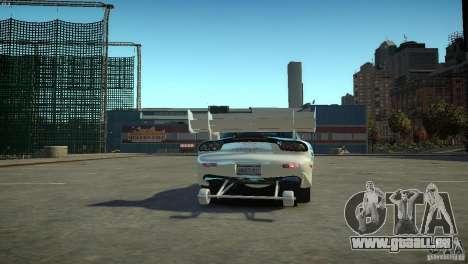 Mazda rx7 Dragster pour GTA 4 Vue arrière de la gauche