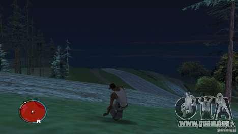 GTA IV HUD pour un écran large (16:9) pour GTA San Andreas troisième écran