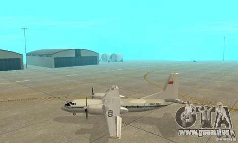 Antonow an-24 für GTA San Andreas linke Ansicht