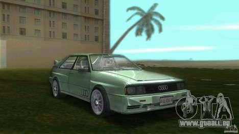 Audi Quattro pour GTA Vice City
