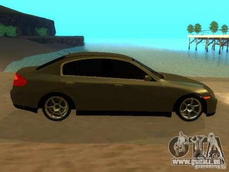 Nissan Skyline 300 GT pour GTA San Andreas vue intérieure