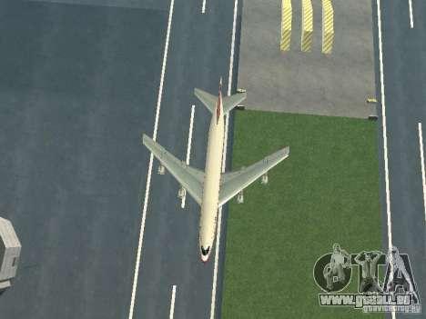 Boeing 747-100 für GTA San Andreas Innenansicht