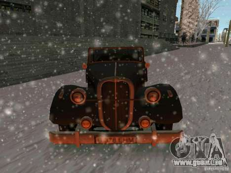 Auto Sabotage jeu pour GTA San Andreas vue arrière