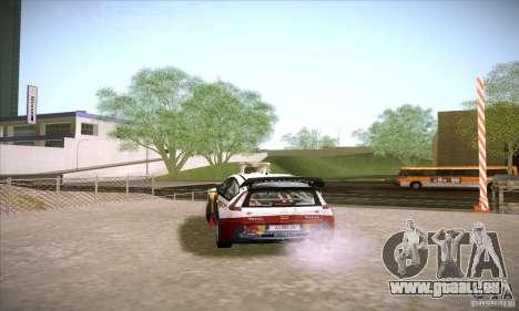 Citroen C4 WRC für GTA San Andreas rechten Ansicht