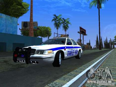 Ford Crown Victoria Police Interceptor 2008 pour GTA San Andreas