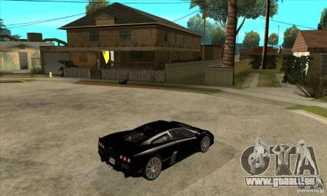 SSC Ultimate Aero Stock version für GTA San Andreas rechten Ansicht