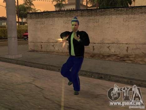 Skins Gopnik für GTA San Andreas her Screenshot
