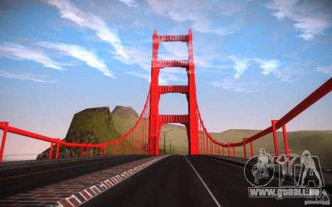 San Fierro Re-Textured pour GTA San Andreas huitième écran