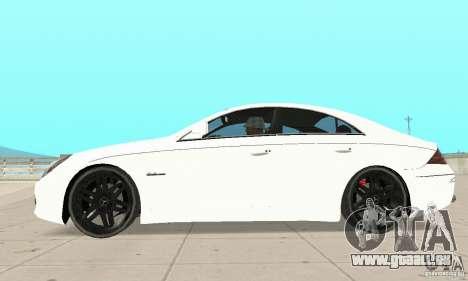 Mercedes-Benz CLS 63 AMG für GTA San Andreas linke Ansicht