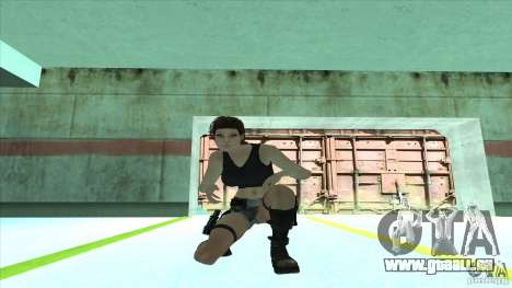 Lara Croft für GTA San Andreas fünften Screenshot