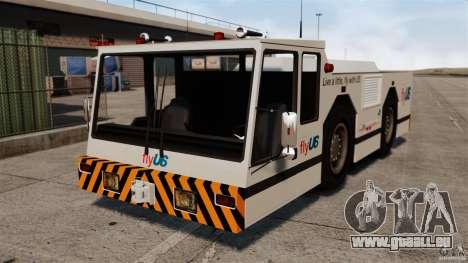 FlyUS Tugs Pack pour GTA 4 Vue arrière de la gauche