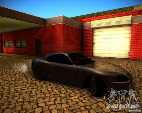 Toyota Supra SHE pour GTA San Andreas vue intérieure