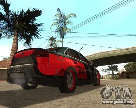 Audi RS4 Grip für GTA San Andreas rechten Ansicht