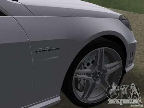 Mercedes-Benz E63 AMG pour GTA Vice City vue latérale