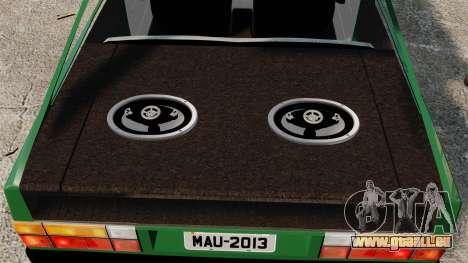 Volkswagen Gol GL 1992 Edit pour GTA 4 est un côté